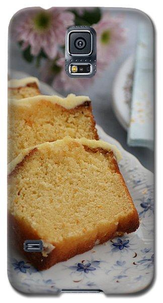 Orange Cake Galaxy S5 Case