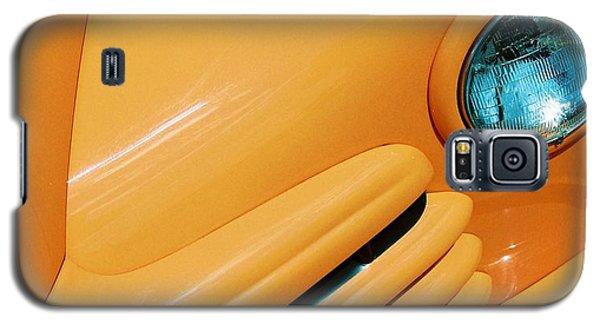 Orange Car Galaxy S5 Case by Daniel Thompson