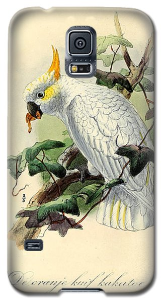 Orange Cockatoo Galaxy S5 Case by Rob Dreyer
