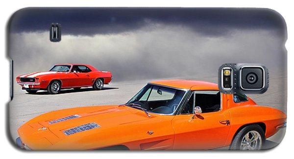 Orange Crush Galaxy S5 Case