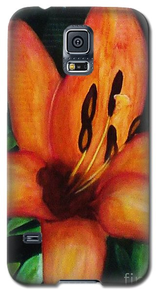 Beautiful Lily Flower Galaxy S5 Case