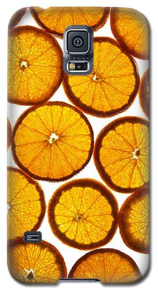 Orange Fresh Galaxy S5 Case by Vitaliy Gladkiy