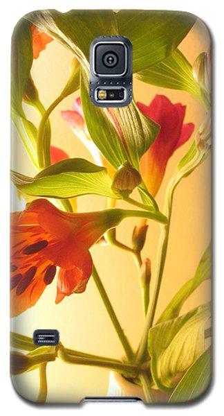 Orange Fresias Galaxy S5 Case