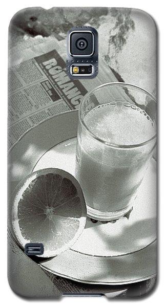 Orange Juice Romance Galaxy S5 Case