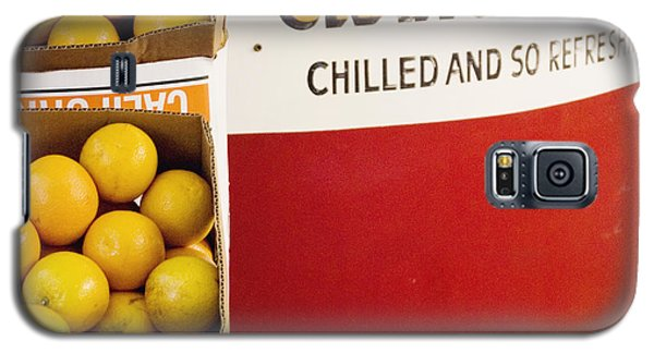 Orange Juice Stand Galaxy S5 Case