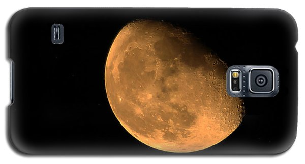 Orange Moon Galaxy S5 Case by Richard Stephen