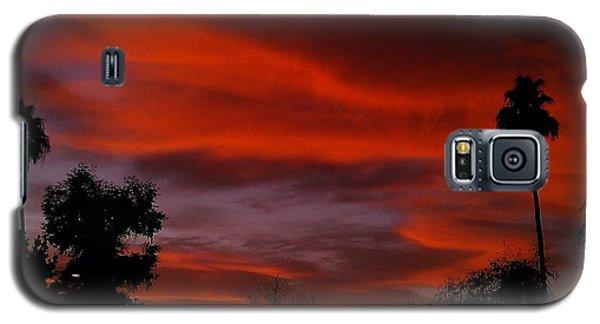 Orange Sky Galaxy S5 Case by Chris Tarpening