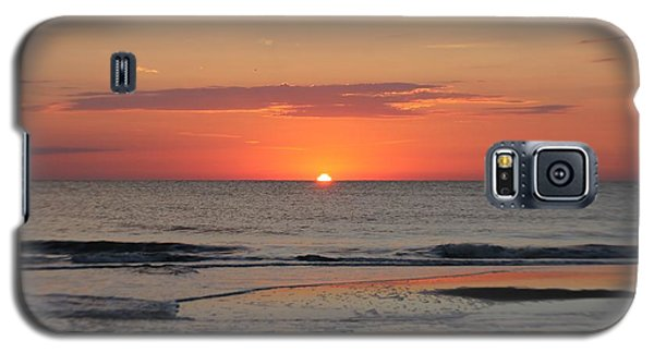 Galaxy S5 Case featuring the photograph Orange Sky Dawn by Robert Banach