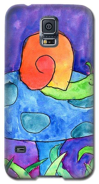 Orange Snail Galaxy S5 Case