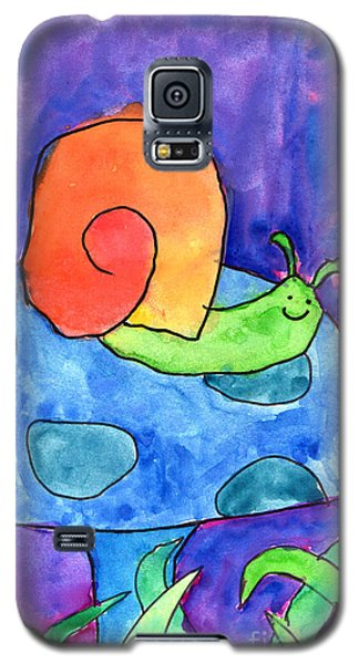 Orange Snail Galaxy S5 Case