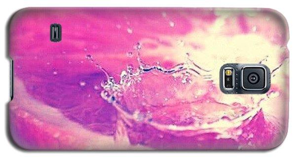 Colorful Galaxy S5 Case - Orange Splash! by Emanuela Carratoni
