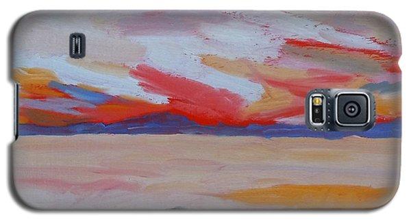 Orange Sunset Galaxy S5 Case by Francine Frank