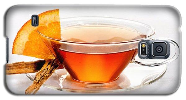 Orange Tea 5528 Galaxy S5 Case