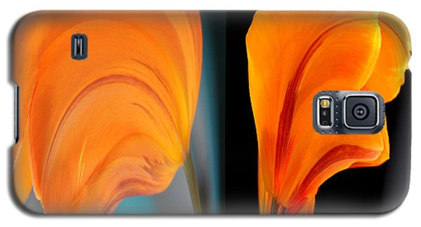 Orange Tulip Fellows Galaxy S5 Case