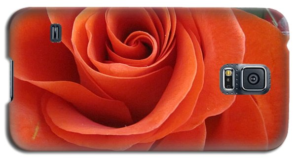 Orange Twist Rose 2 Galaxy S5 Case