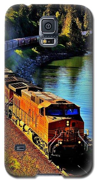 Orange Workhorse Galaxy S5 Case