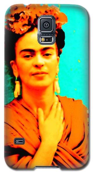 Orange You Glad It Is Frida Galaxy S5 Case