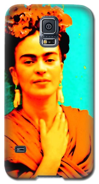 Orange You Glad It Is Frida Galaxy S5 Case