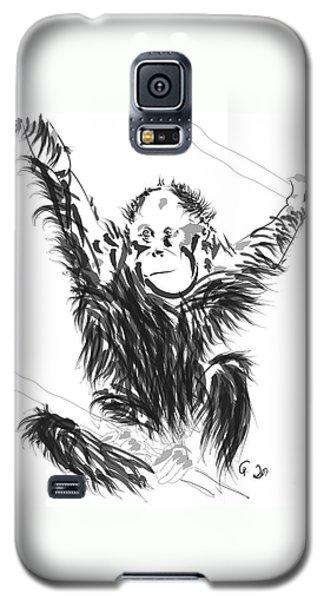 Orangutan Baby Galaxy S5 Case
