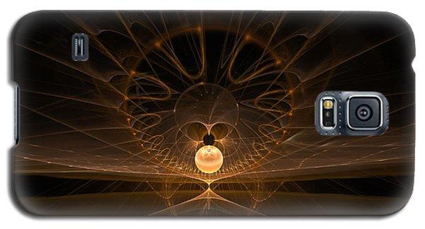 Galaxy S5 Case featuring the digital art Orb by GJ Blackman