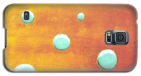 Orbs In Space 2 -- Inverted Colors Galaxy S5 Case by Rod Ismay