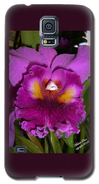 Orchid Flames Galaxy S5 Case