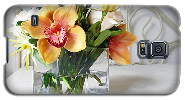 Orchid Bouquet Galaxy S5 Case