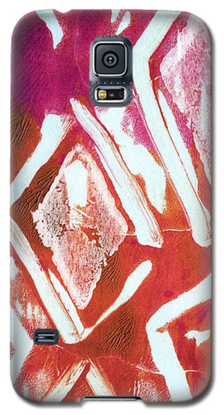 Orchid Diamonds- Abstract Painting Galaxy S5 Case