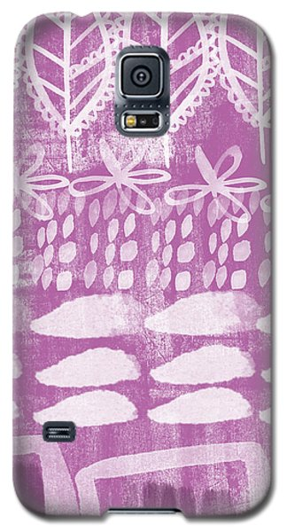 Orchid Galaxy S5 Case - Orchid Fields by Linda Woods