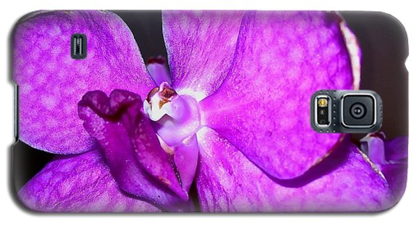 Galaxy S5 Case featuring the photograph Orchid From Art Gallery by Randy Rosenberger