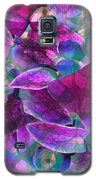Galaxy S5 Case featuring the photograph Orchid Splash by Diane Alexander