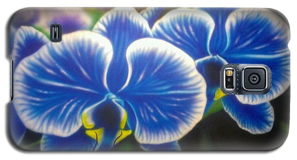 Orchid-strated Blues Galaxy S5 Case