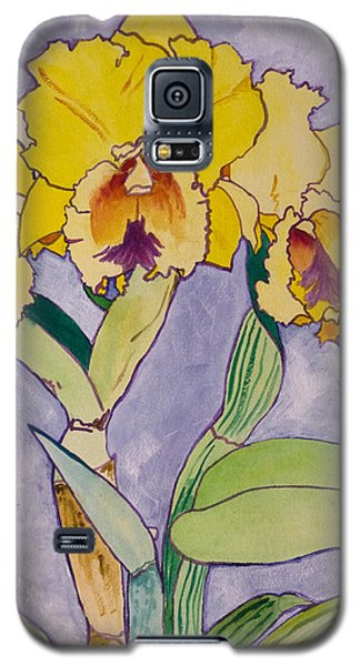 Orchid Study Galaxy S5 Case