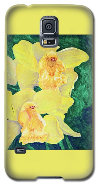 Orchid Yellow Galaxy S5 Case