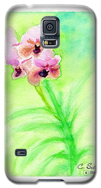 Orchids Galaxy S5 Case by C Sitton