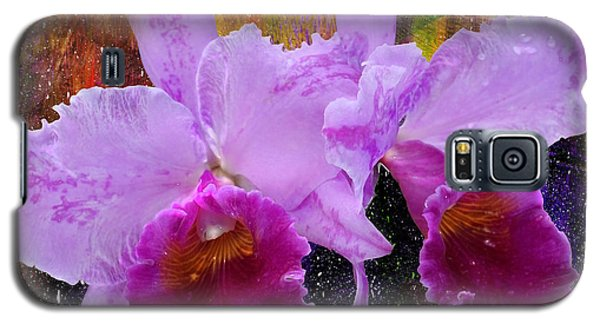 Orchids For Easter Galaxy S5 Case by Lena Wilhite