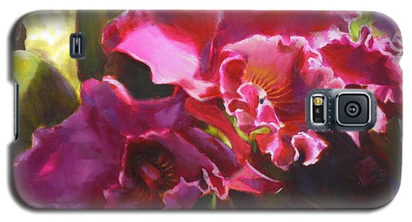 Orchids In Magenta Galaxy S5 Case
