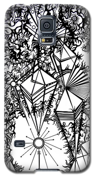 Galaxy S5 Case featuring the photograph Order And Chaos by Devin  Cogger