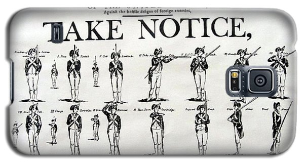 Order Of Battle - Take Notice Brave Men Galaxy S5 Case by Susan Carella