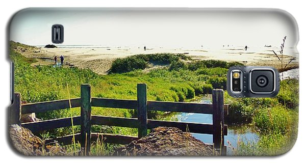 Oregon Beach 1 Galaxy S5 Case