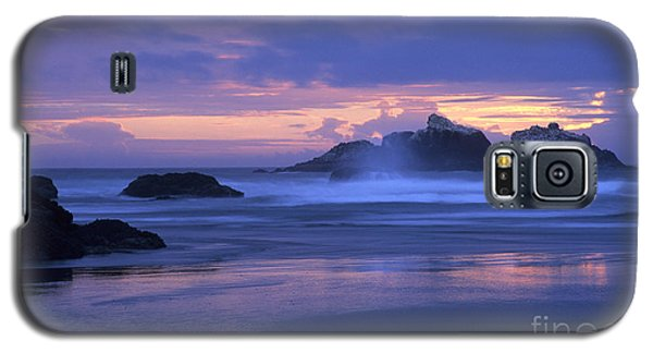 Oregon Coast Sunset Galaxy S5 Case by Chris Scroggins