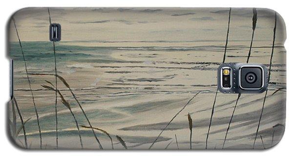 Oregon Coast With Sea Grass Galaxy S5 Case