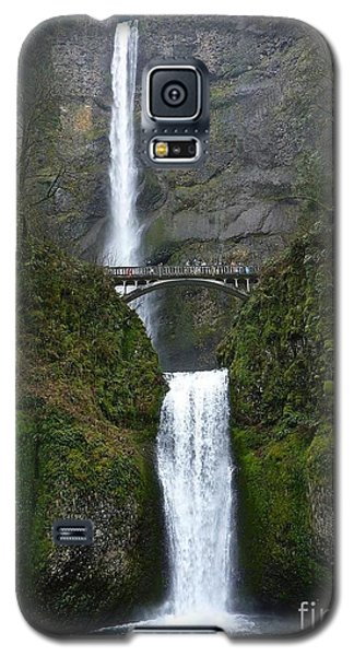 Oregon Long Shot Of  Falls Galaxy S5 Case