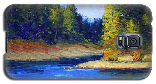 Oregon River Landscape Galaxy S5 Case