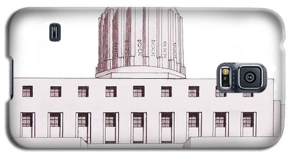 Oregon State Capitol Galaxy S5 Case by Frederic Kohli
