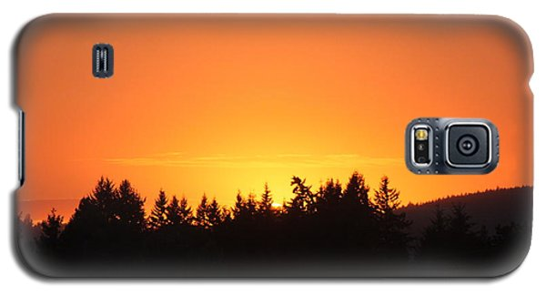 Galaxy S5 Case featuring the photograph Oregon Sunset by Melanie Lankford Photography