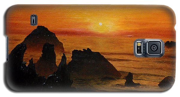 Oregon Sunset Galaxy S5 Case by Suzette Kallen