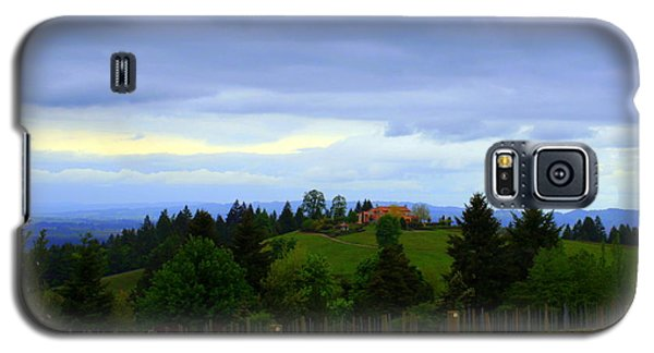 Galaxy S5 Case featuring the photograph Oregon Wine Country by Debra Kaye McKrill