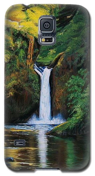 Oregon's Punchbowl Waterfalls Galaxy S5 Case