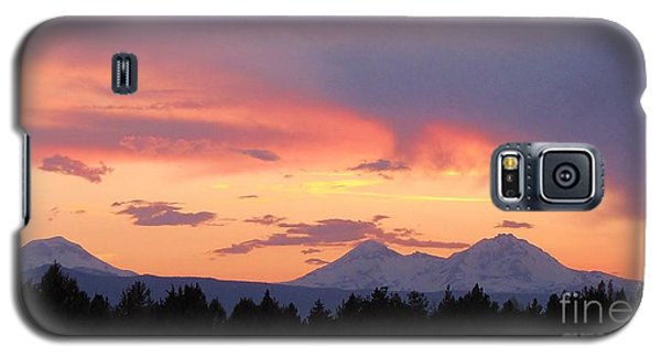 Oregon's Three Sisters  Galaxy S5 Case